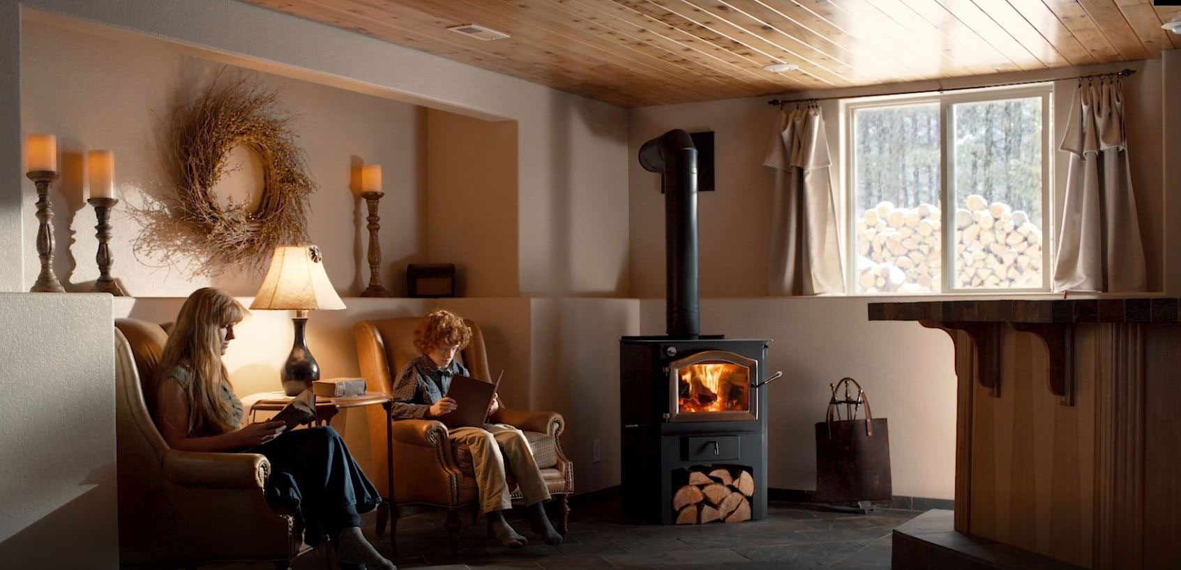 Home is where the hearth is - Wood Stoves