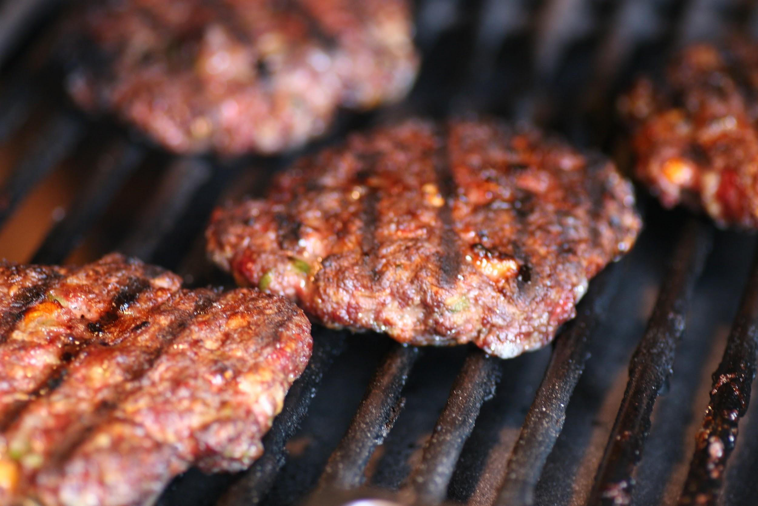 Firecracker Grilled Burgers