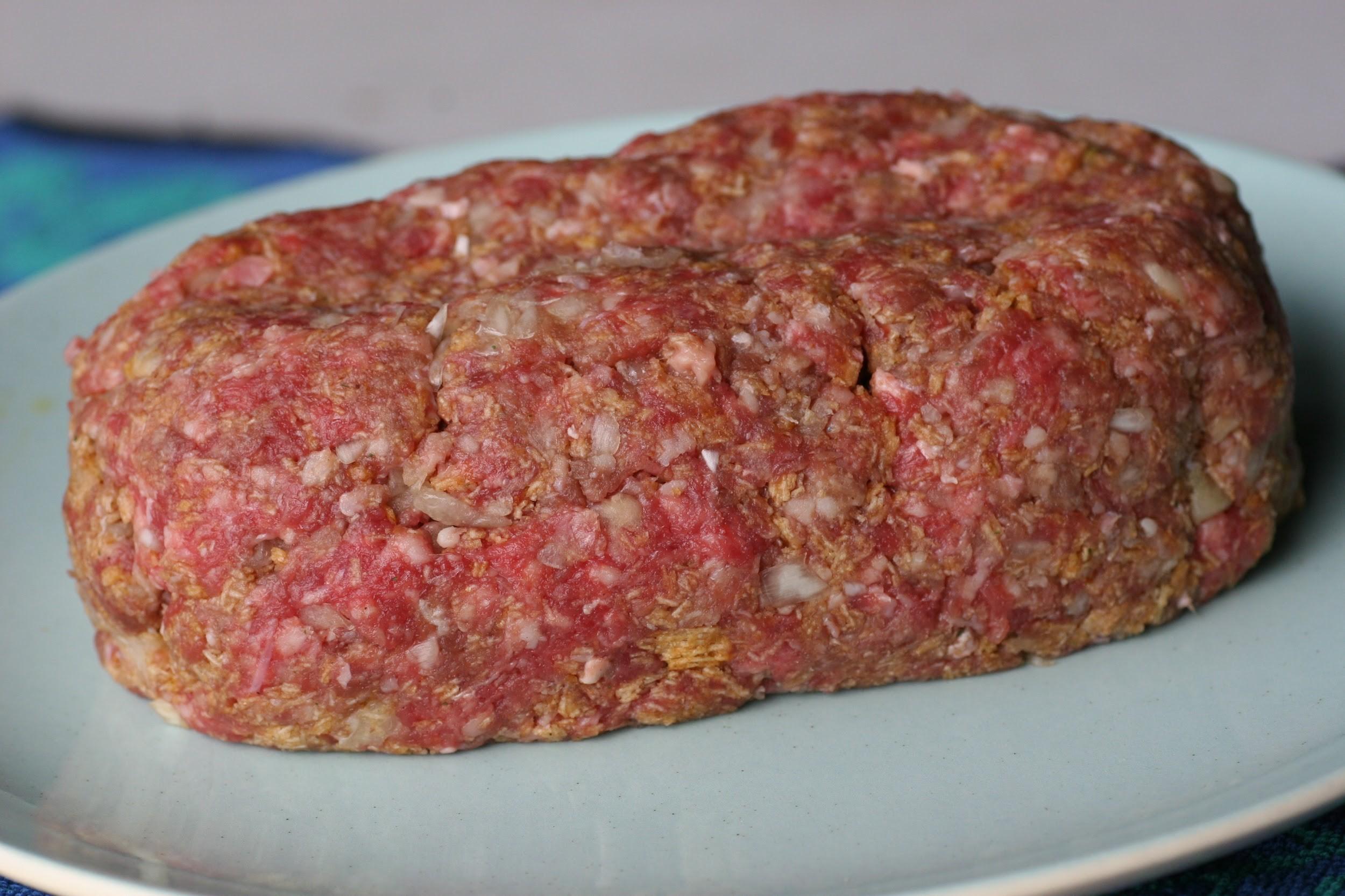 formed meatloaf