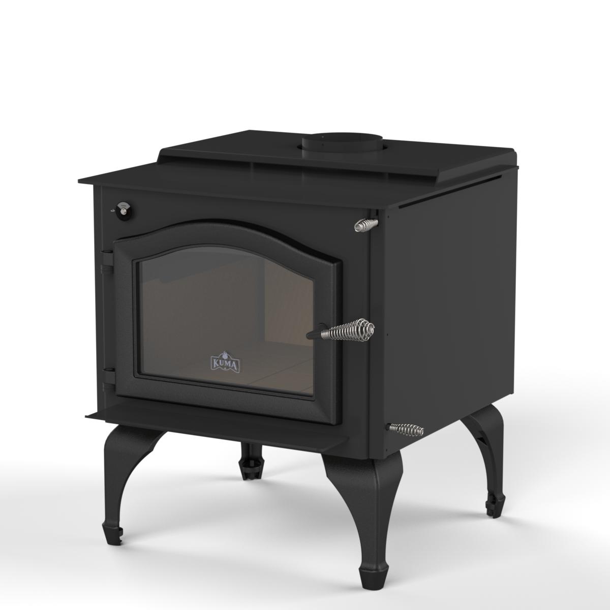 Ashwood Le Wood Stove And Fireplace From Kuma Stoves