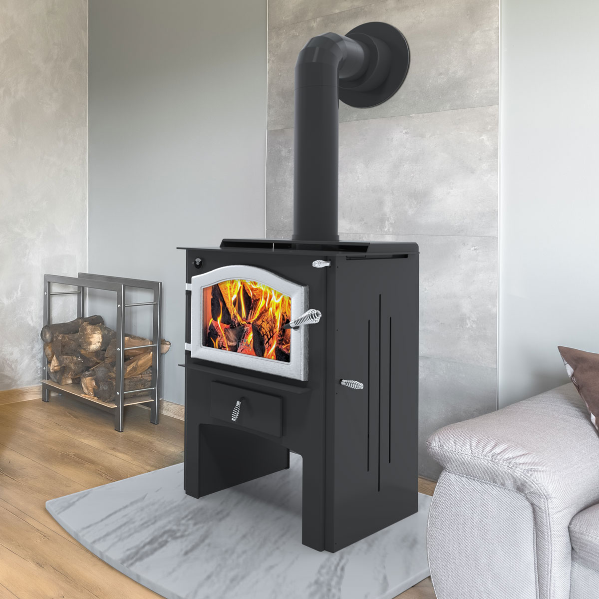 Kuma Aberdeen LE wood stove, made in the USA