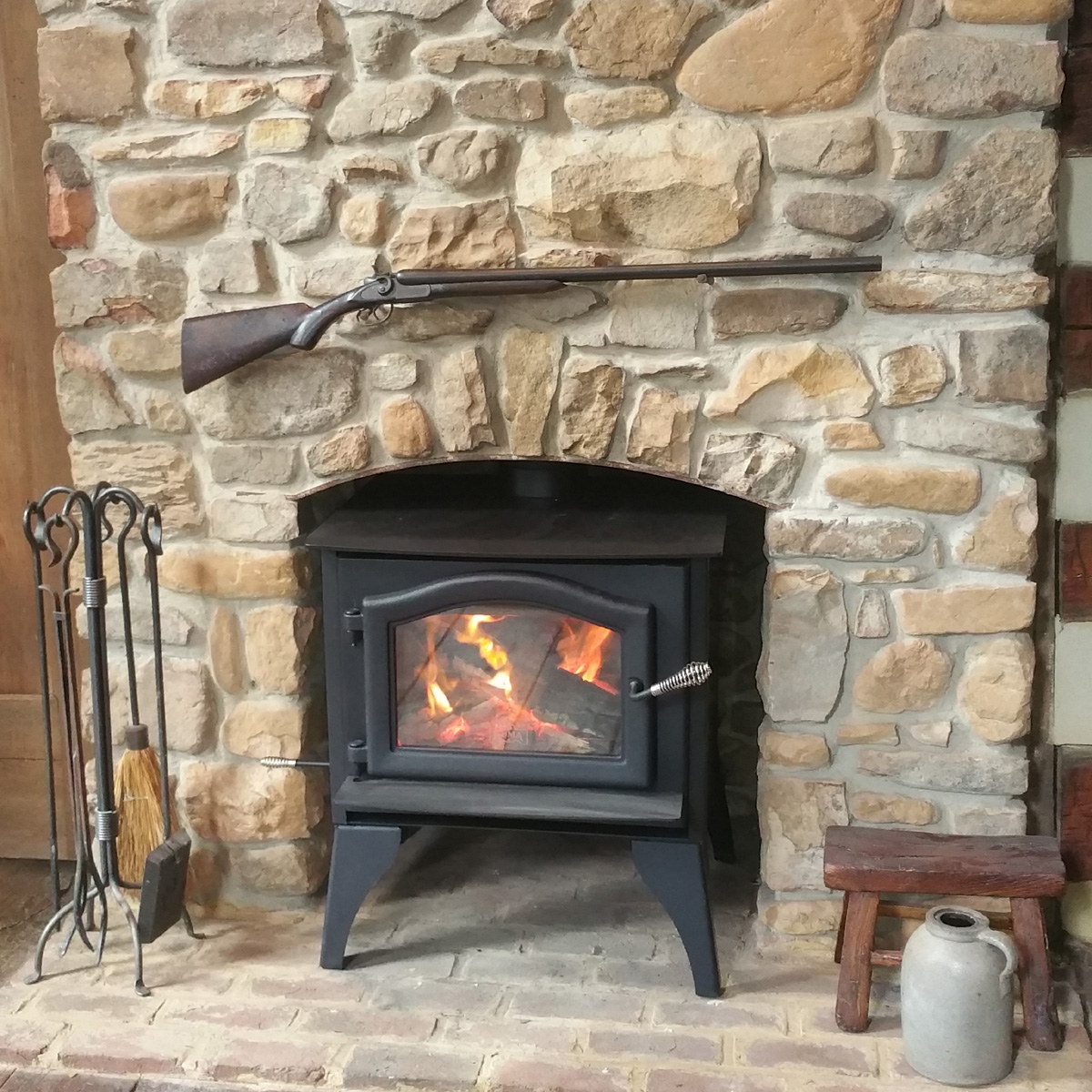 ashwood wood stove and fireplace from kuma stoves