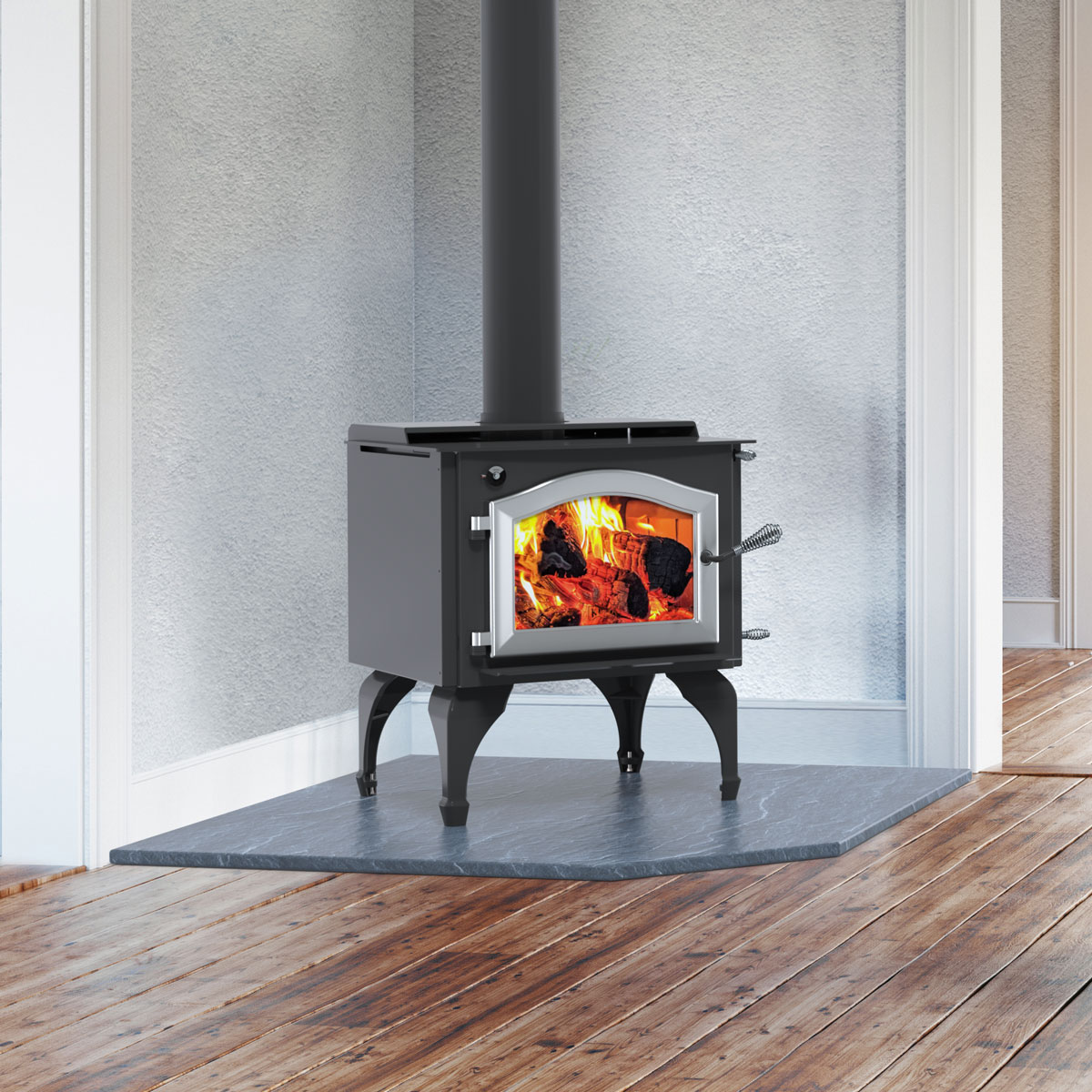 Kuma Aspen LE wood stove, made in the USA