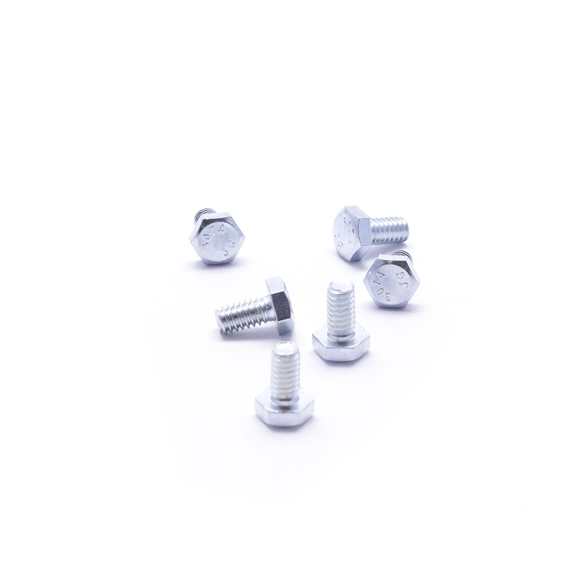 "Pack of 6 bolts, 1/4""-20 x 1/2"" Kuma Stoves"