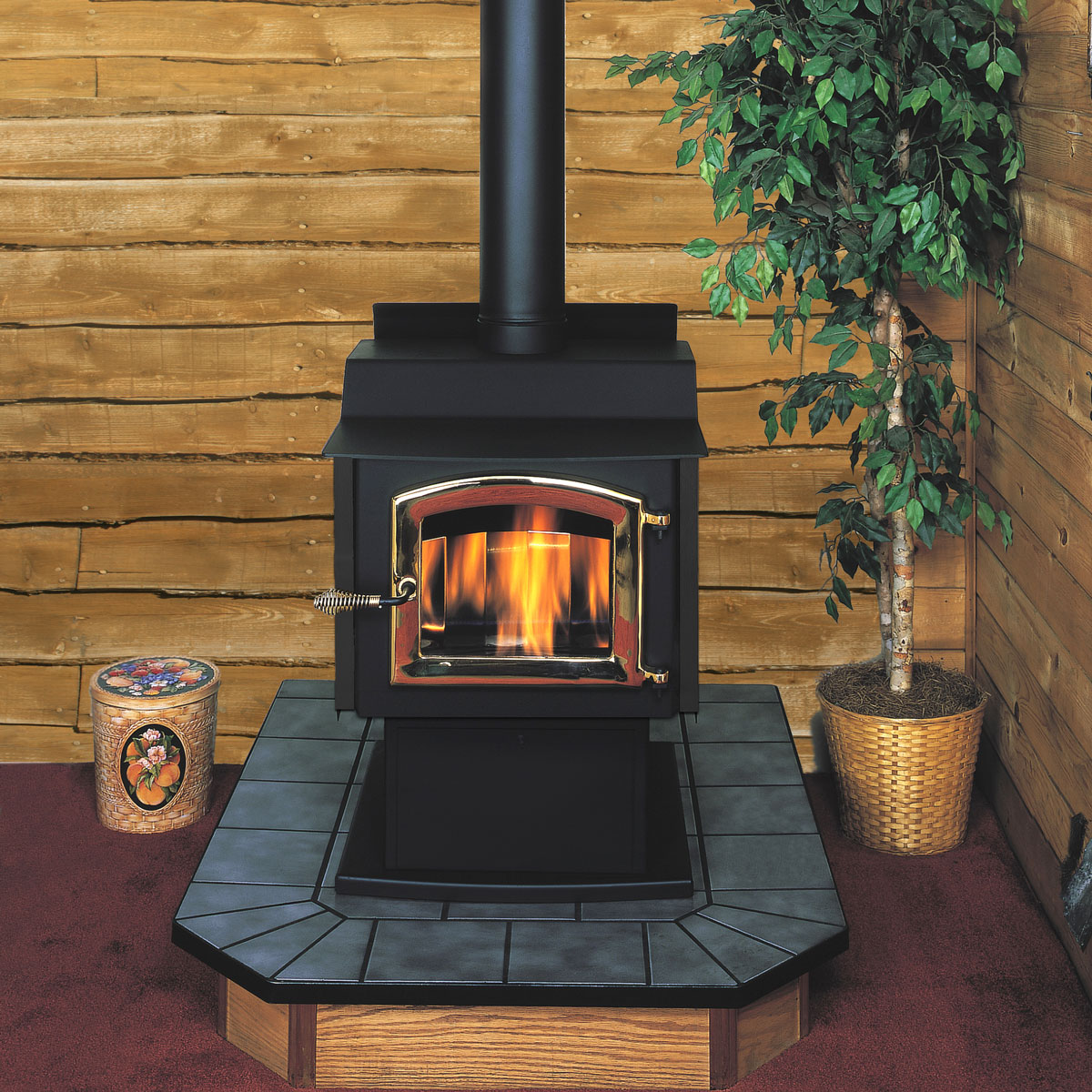 Oil Classic Oil Stove, High Effeciency Stove From Kuma Stoves