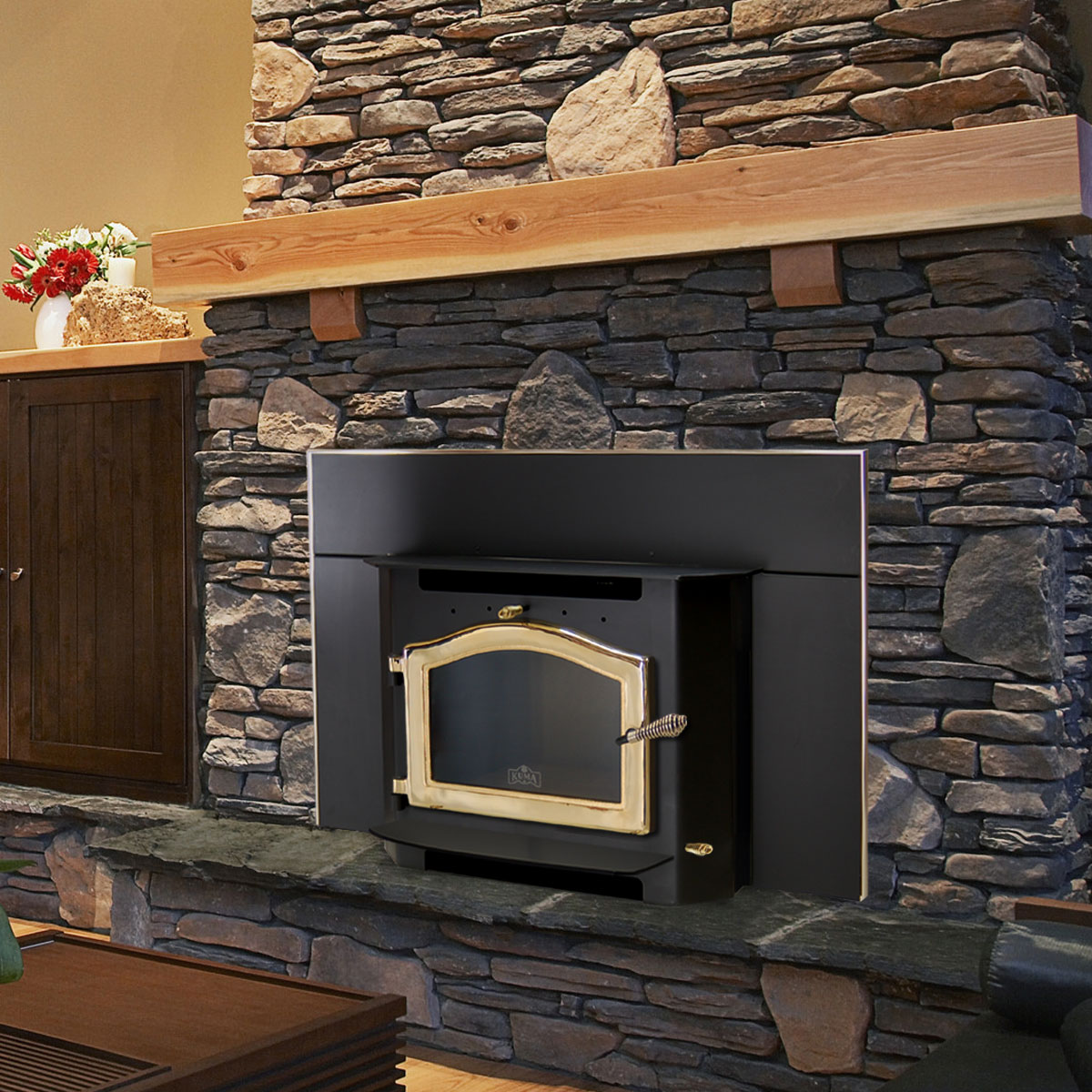 Wood Stove Insert by Kuma Stoves