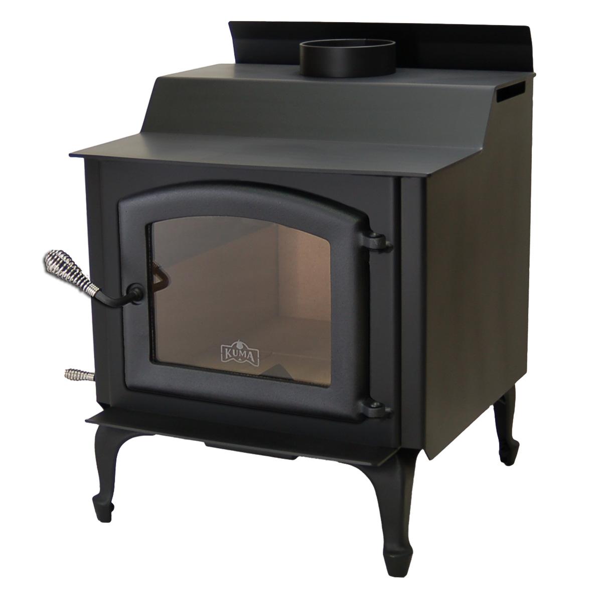 tamarack wood stove and fireplace from kuma stoves