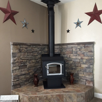 Customer Image.  Installed by Redmond Spa and Stove, Redmond OR.