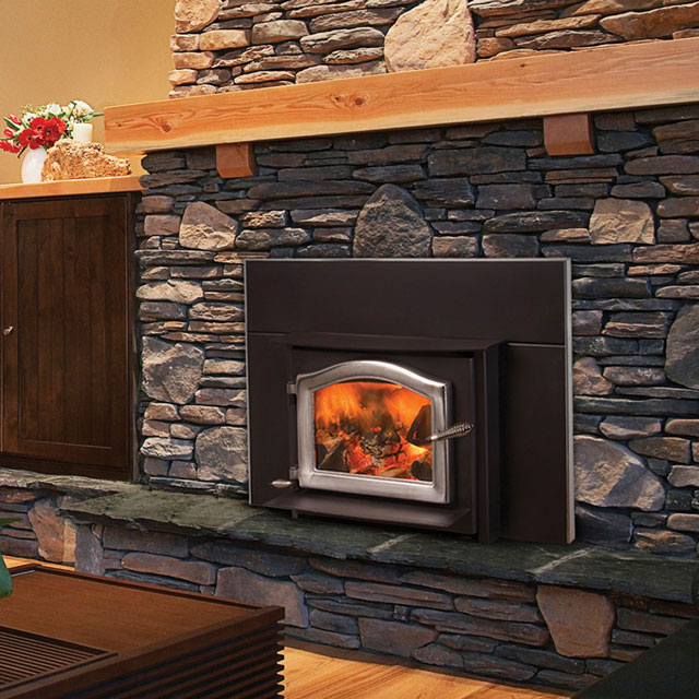 Kuma Stove wood stove inserts provide high efficiency heat in an attractive package.  Shop our full line of wood stove inserts now at Kuma Stoves.