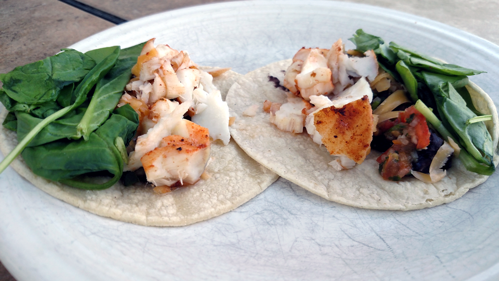 Seared Tilapia Tacos
