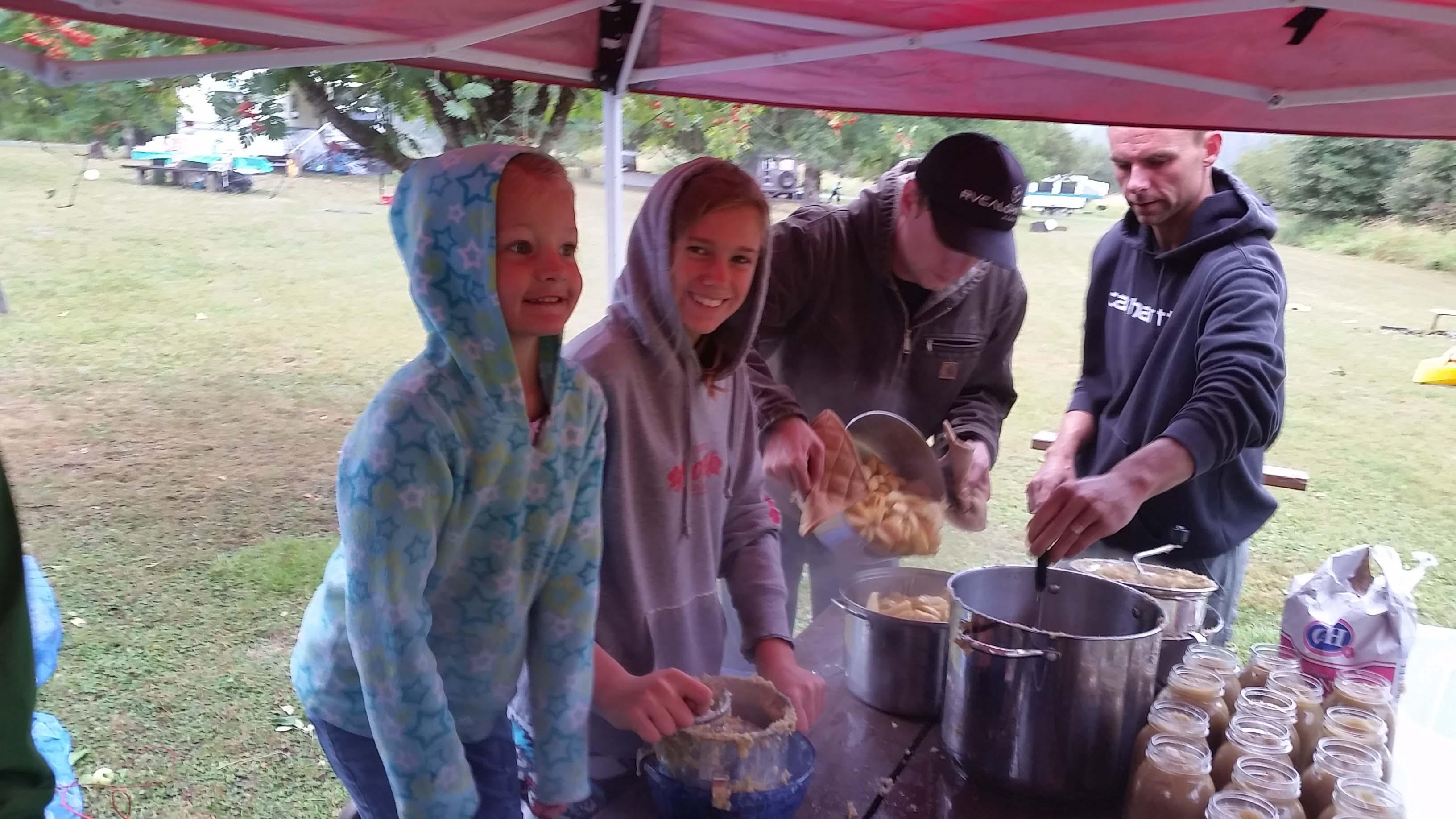 applesauce at camp